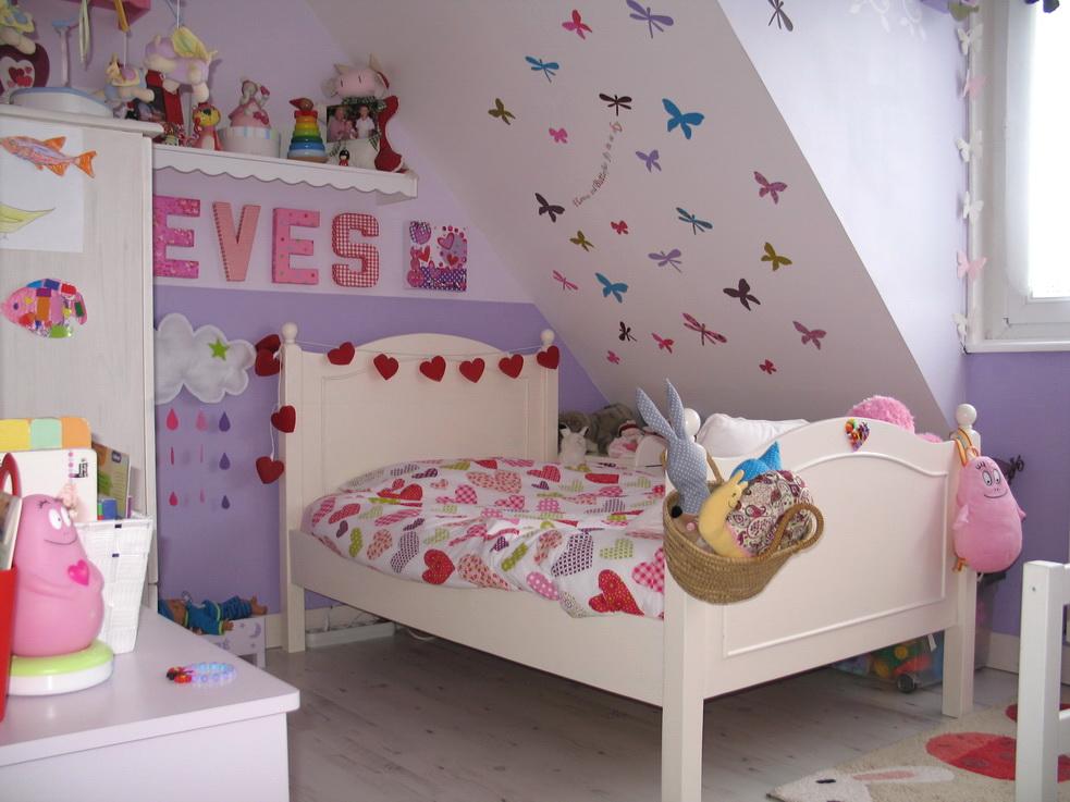 Une chambre de petite fille devenue un peu grande ! - Idees et ...