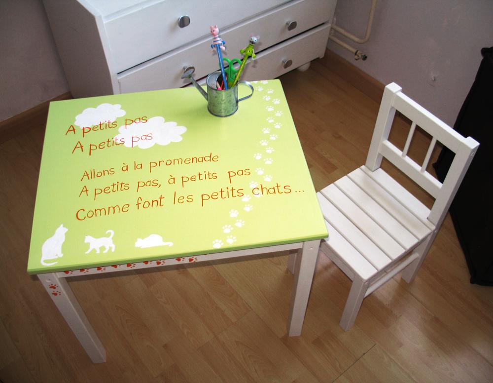 Petite table bureau pour enfant idees et creations graphiques