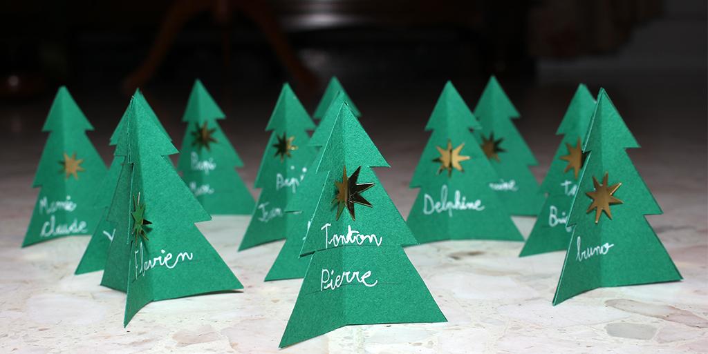 Les cr ations de no l 2013 idees et creations graphiques - Fabriquer marque place noel ...