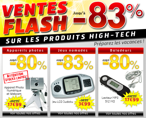 Home page Jouet Discount semaine 25