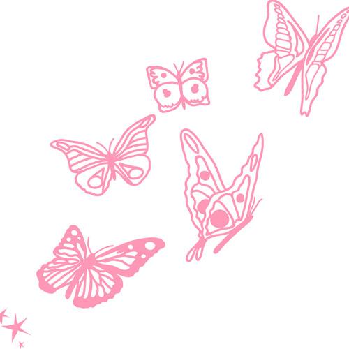 J Adore Les Papillons Idees Et Creations Graphiques