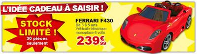 Vente flash Ferrari