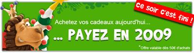 Payer en 2009