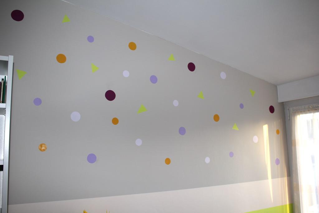 Peindre Des Ronds Sur Un Mur  Idees Et Creations Graphiques
